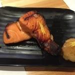 日吉屋 - サーモン柚庵焼き