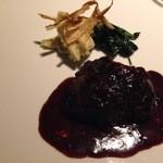 36813240 - メイン 牛肉のワイン煮込み(解けるような肉の柔らかさで、味も濃すぎず◎)