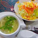 ナマステ高坂 - サラダ&スープ
