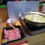 小料理 石蕗 - 黒豚しゃぶしゃぶ