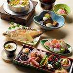 箸ずめ - お昼のコース(お店からの写真)