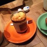 猿Cafe  - バナナ&カスタードマフィン(250円)
