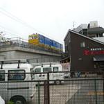 36816167 - 店舗裏は、新幹線