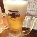 ニューくろ万 - 生ビール(¥480)