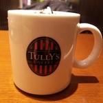 タリーズコーヒー - ロゴマークが入ったマグカップ