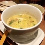 やきとりセンター - 濃厚鶏白湯ラーメン