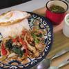 ピピテーブル - 料理写真:お肉がゴロゴロ!ガパオライス