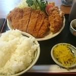 嵯峨野 - 2015.4チキンカツ定食