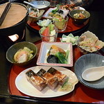 36819908 - 黒米寿司ランチ