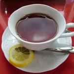海の見えるレストラン 南葉亭 - 南葉亭 @横須賀 ランチの飲み物 紅茶