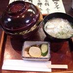 うおまる屋 - 丼ランチ かつ丼 600円