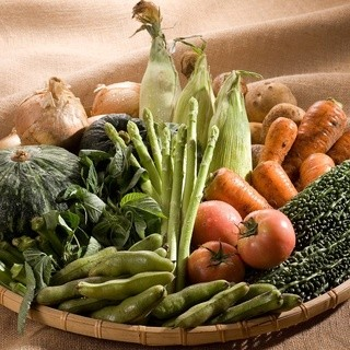 お米はもちろん地場産野菜・素材へのこだわり!