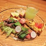 Osteria OLMO - 前菜の盛合わせ☆