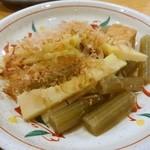 ゑびす - 筍とふき煮350円