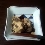 京のうまいもの屋 櫻 - 食後のわらび餅