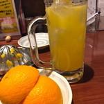 36824113 - 生オレンジ&ピーチ。