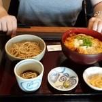 36824793 - ヒレかつ丼セット