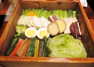 神戸プレジール - 野菜がてんこ盛り!
