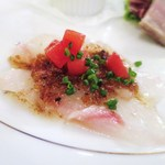 ル・ボン・ヴィボン - 真鯛のカルパッチョ