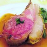 ル・ボン・ヴィボン - 仔羊のグリエ ジュのソース