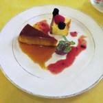 ル・ボン・ヴィボン - カボチャのプリン  チーズケーキ  チョコムース