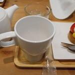 サリュ - 紅茶といちごタルト