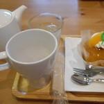 サリュ - 紅茶とサバラン・オランジェ