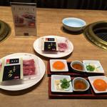 食道園 - ユッケ¥1,100/人