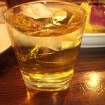 あいびき - 梅酒ロック