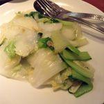 福盈門 - 季節野菜のにんにく風味炒め物
