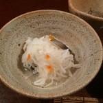 元祖鮭鱒料理 割烹 金大亭 - 【2015年01月】氷頭の膾(と書いて「ひずのなます」と読む)。
