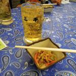 ラーメン餃子三平 - 焼酎ハイボール340円とお通し