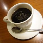 庄や - サービスのコーヒー。