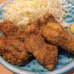 三田 山田屋 - カキフライ定食