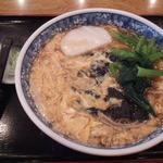 長寿庵 - 玉子とじ蕎麦