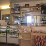 ハンバーグカフェVeggy - 店内         2015/4月