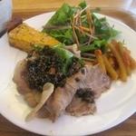 ハンバーグカフェVeggy - 菜ランチ(肉) ¥720円   ドリンク付