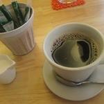 ハンバーグカフェVeggy - ドリンクは珈琲を選択