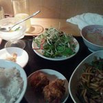 小龍門 - 青椒肉絲ランチ