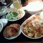小龍門 - マーボー豆腐ランチ