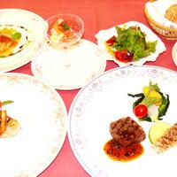 田沢湖ローズパークホテル - 2015年春のディナー例 春らしいお料理を提供しております