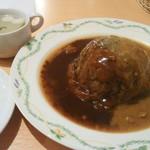 36838056 - ロールキャベツ(塩麹スープ、ライス付) 1600円