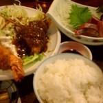 36838205 - よくばりな定食!!