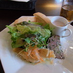 イル リストランティーノ - 料理写真:主菜のないAランチ(1380円)の前菜