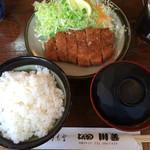 川善 - ランチ とんかつ定食