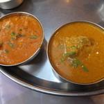 南印度ダイニング - 豆カレー・チキンカレー