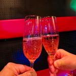 JAP - スパークリングで乾杯〜♪