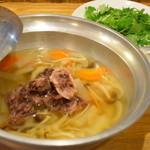 居酒屋 とよ志の亭 - 牛テール鍋