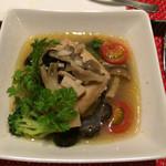 スパイラル - 白身魚と牡蠣のナージュ