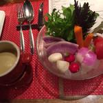 スパイラル - 鎌倉野菜のバーニャカウダ
